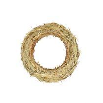Couronne de paille anneaux de paille 50 / 10cm