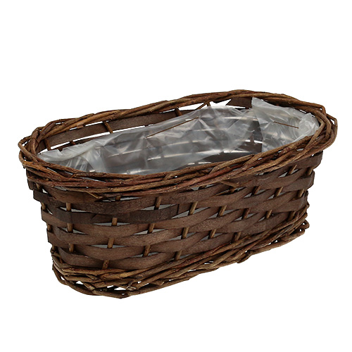 panier pain ovale non corc 25 cm h 9 cm boutique en ligne d accessoires pour fleuristes. Black Bedroom Furniture Sets. Home Design Ideas