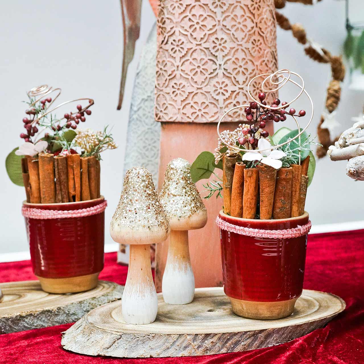 Brioches décoratives à la cannelle 10cm 500g