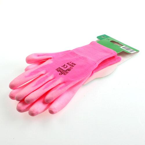 gants de jardinage kixx taille 8 rose fuchsia boutique en ligne d accessoires pour fleuristes. Black Bedroom Furniture Sets. Home Design Ideas
