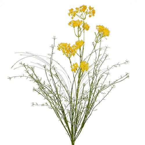 fleurs des champs jaunes l 60 cm 3 p articles de d coration. Black Bedroom Furniture Sets. Home Design Ideas