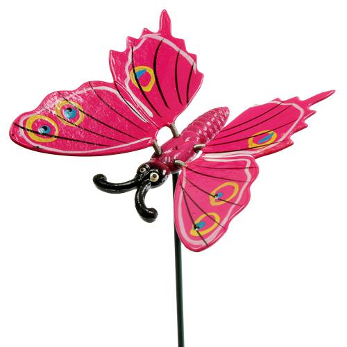 Papillons sur tige 8cm couleurs diff rents articles de d coration - Papillon sur tige ...