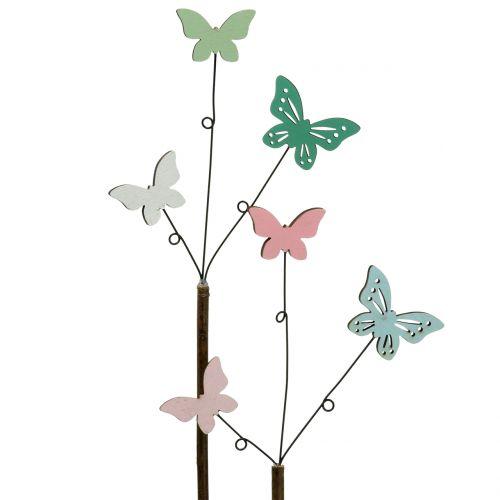 Sticker Déco Papillon H43cm 6pcs