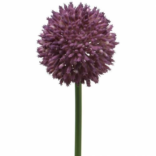 Orium Allium Artificiel Violet Ø8cm 58cm