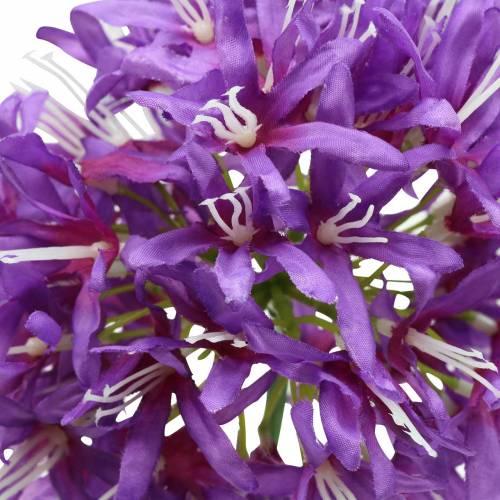 Allium artificiel Violet Ø12cm H62cm