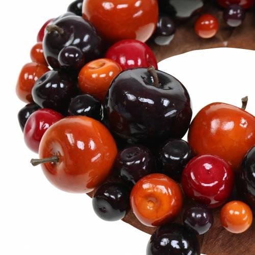 Couronne décorative pomme Ø26cm