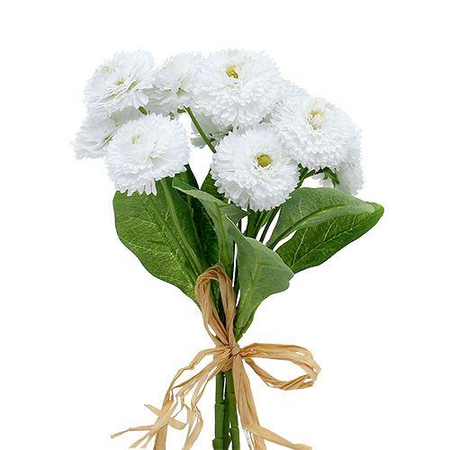 Bouquet de pâquerettes blanches 24 cm 3 p.