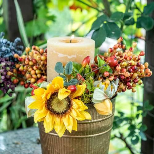 Bouquet de tournesols d'automne Ø30cm