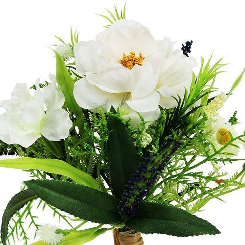 Bouquet blanc 20cm