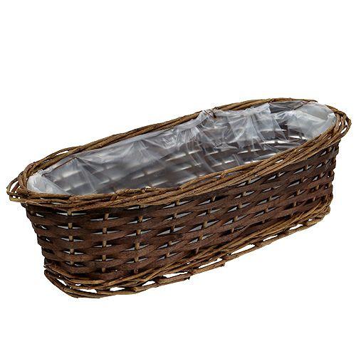 panier pain ovale non corc 35 cm h 10 cm boutique. Black Bedroom Furniture Sets. Home Design Ideas