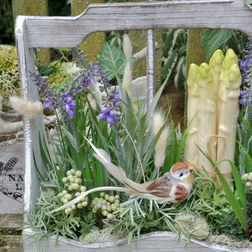 Plante décorative lavande, pot de lavande méditerranéenne, fleur artificielle violette