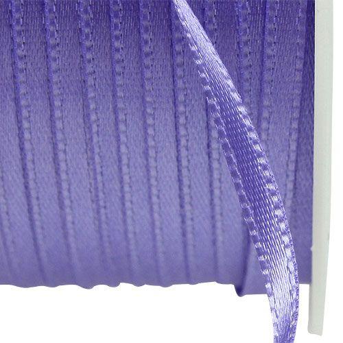 Ruban cadeau et décoration 3 mm x 50 m mauve