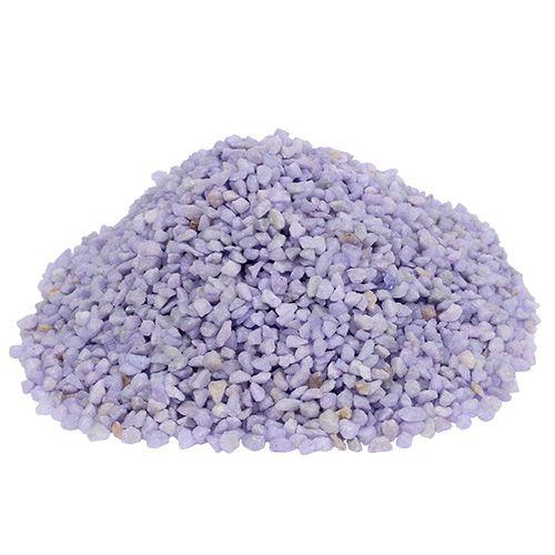 Granulés décoratifs lilas 2mm - 3mm 2kg