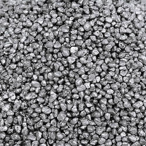 Granulé décoratif argent 2mm - 3mm 2kg
