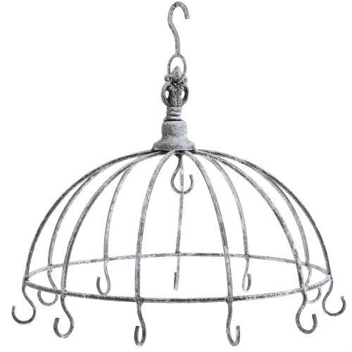 Couronne décorative à suspendre Ø33,5cm H31,5cm