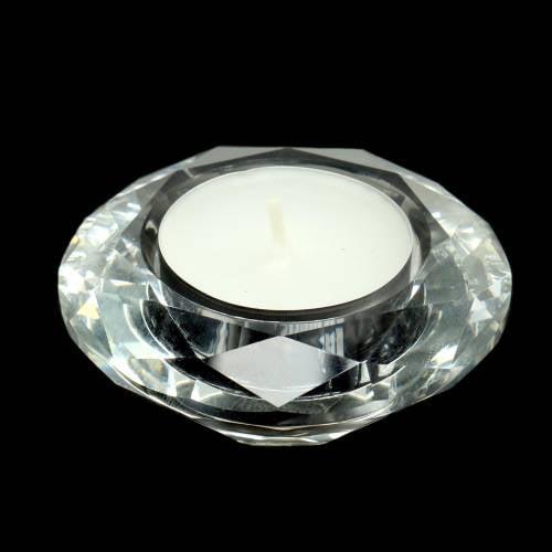 Photophore en Verre Avec Modèle Diamant Séléction