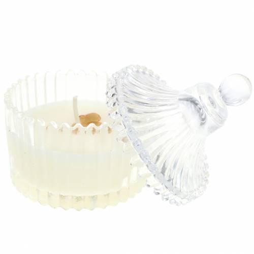 """Bougie parfumée """"Fruits de fête et vanille"""" Ø6,5cm H9cm"""