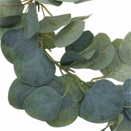 Couronne de porte eucalyptus couronne d'eucalyptus artificiel Ø38cm