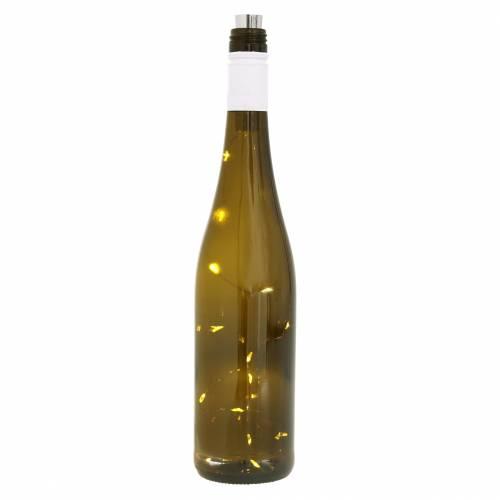 Lampe LED bouteille blanc chaud 73cm 15L