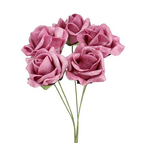 Mousse Rose Ø4.5cm Erika 36pcs