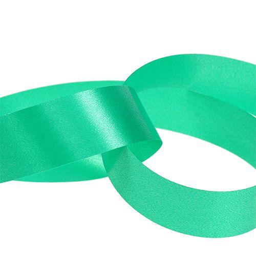 Ruban à friser vert 25 mm 100 m
