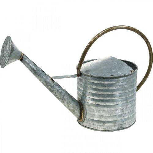 Arrosoir métal aspect antique 52×20×33cm
