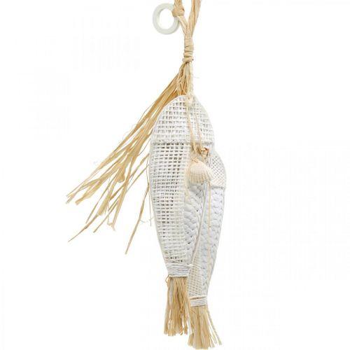 Poisson à suspendre, maritime, cintres de décoration avec poisson, décorations de fête tropicales