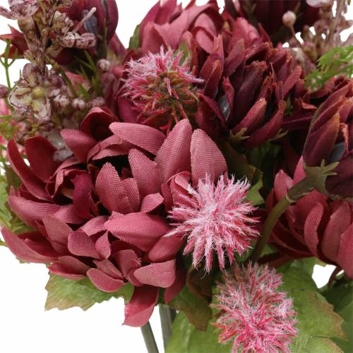 Chrysanthème Bouquet Mix Violet 35cm