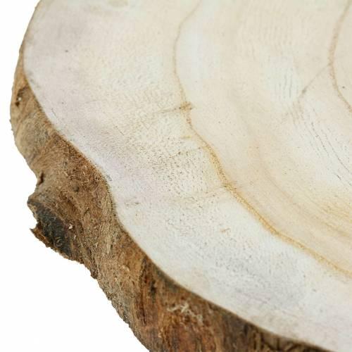 Disque en bois naturel Ø25-32cm