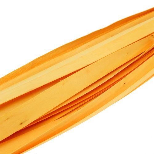 Sangles de bois jaunes 95 - 100 cm 50 p.