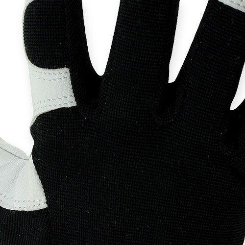 Gants en lycra Kixx taille 8 noir/gris clair