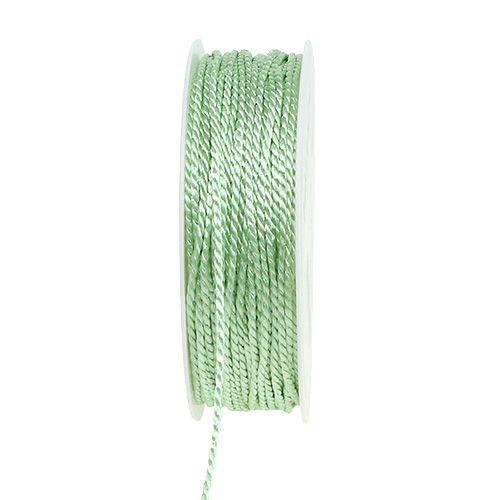Cordelette vert clair 2 mm 50 m