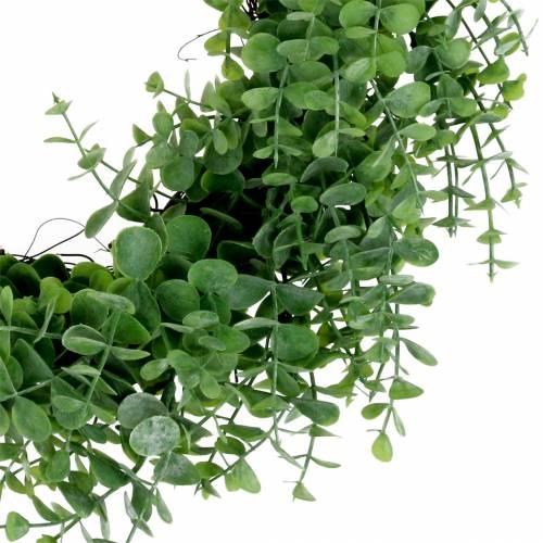 Couronne d'eucalyptus verte Ø 36 cm