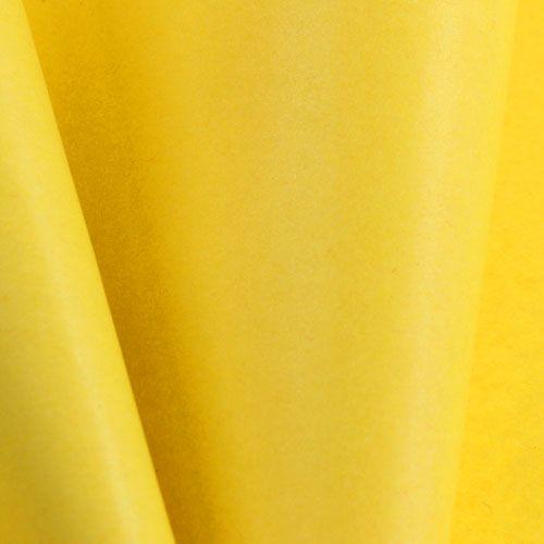 Papier de fleuriste jaune 37,5 cm 100 m