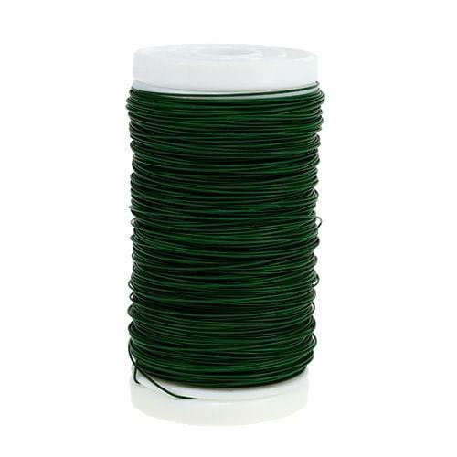 Fil de fleuriste Vert 0,35mm 100g