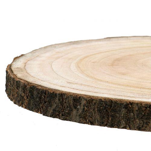 Disque arbre clocher bleu nature Ø30-35cm 1p