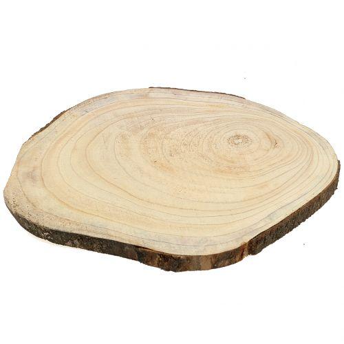 Disque arbre cloche bleu nature Ø35–45cm
