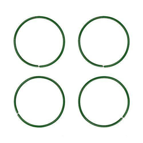 Bagues de tuteurage vernies 19 mm 1 kg vert