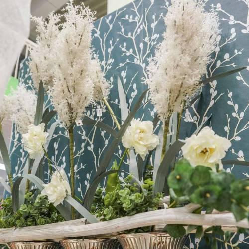Herbe de Pampa Herbes sèches artificielles blanches Plantes artificielles