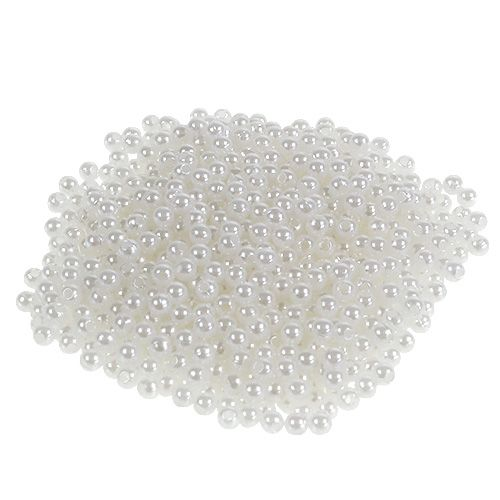 Perles blanches Ø 4 mm 200 g