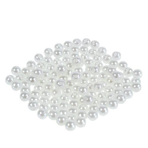 5 Perlen perlmutt creme champagner Hochzeit Wachsperlen 25mm große Perlen