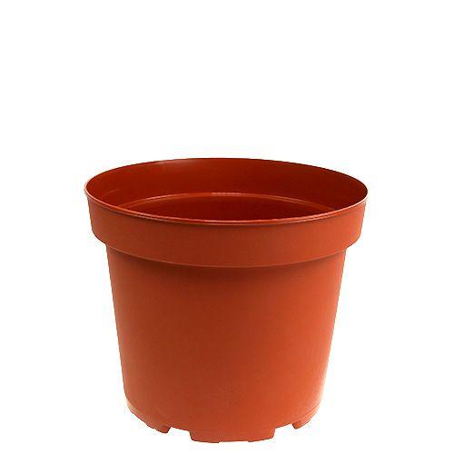 Cache-pot intérieur en plastique Ø10,5cm 10pcs
