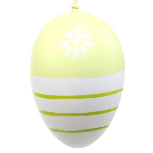 Œufs de Pâques déco à suspendre 6 cm 12 p.