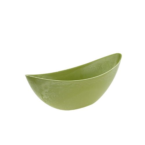 Bol déco vert clair 39cm x 12.5cm H13cm