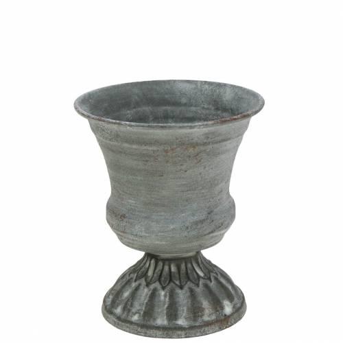 Coupe à gobelet gris antique Ø7.5cm H9cm