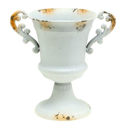 Tasse blanc antique Ø16,8cm H24,8cm