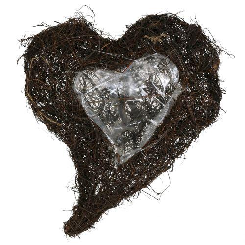 Coeur de vigne pour plantation nature 30cm x 25cm