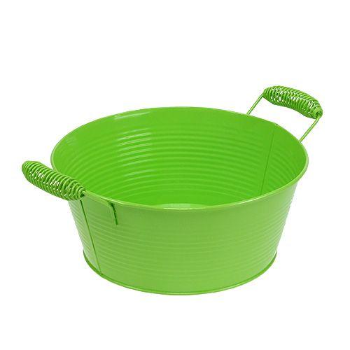 Bol vert rond Ø22cm H9,5cm