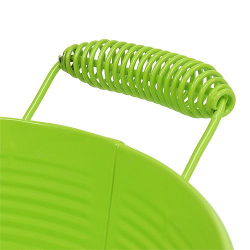 Bol rond vert pomme Ø22cm H9.5cm