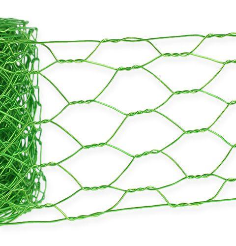 Maillage hexagonal vert pomme 50mm 5m